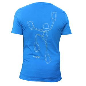 """Climbing Pro""™ M's slim fit T, Blue Sky. Click image to enlarge."