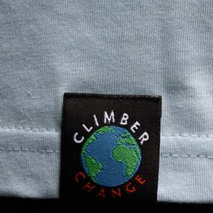 """Climber Change"" label (outside). Click image to enlarge."